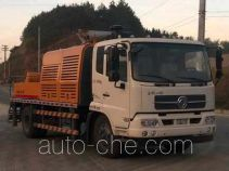 Dongfeng EQ5120THBT truck mounted concrete pump