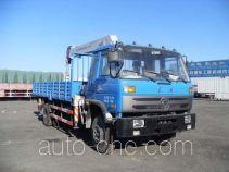 Dongfeng EQ5121JSQX truck mounted loader crane