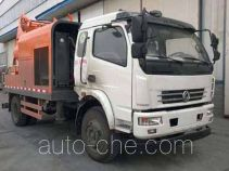 Dongfeng EQ5123THBT truck mounted concrete pump