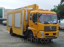 Dongfeng EQ5160TPS4 high flow emergency drainage and water supply vehicle