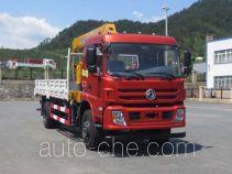 Dongfeng EQ5166JSQF truck mounted loader crane