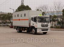 Dongfeng EQ5181XRQL9BDEACWXP flammable gas transport van truck