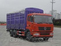 Dongfeng EQ5250CCYGZ4D2 грузовик с решетчатым тент-каркасом