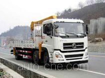 Dongfeng EQ5253JSQT truck mounted loader crane