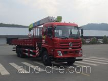 Dongfeng EQ5258JSQFV truck mounted loader crane