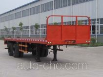Dongfeng EQ9240P flatbed trailer