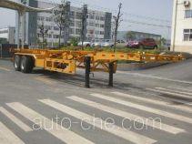 东风牌EQ9350TJZZM型集装箱运输半挂车