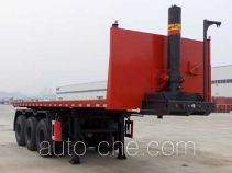 Dongfeng EQ9401ZZXPT flatbed dump trailer