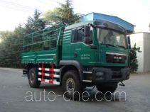 Seismic spread truck