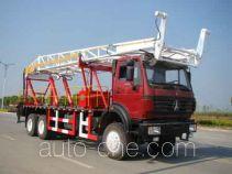 RG-Petro Huashi ES5200TLF vertical mounting derrick truck