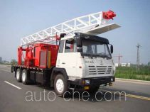 RG-Petro Huashi ES5231TCY well servicing rig (workover unit) truck