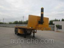 Changchun Yuchuang FCC9352ZZXP flatbed dump trailer