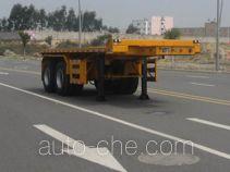 Changchun Yuchuang FCC9353ZZXP flatbed dump trailer