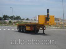 Changchun Yuchuang FCC9400ZZXP flatbed dump trailer