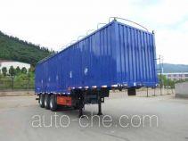 Minfeng FDF9380XXYP soft top box van trailer