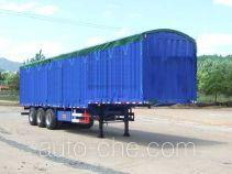 Minfeng soft top box van trailer