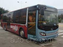 五洲龙牌FDG6101HEVN5型混合动力城市客车