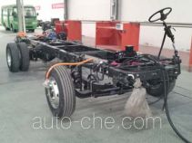 Wuzhoulong FDG6620EVD electric bus chassis