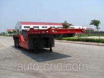 翼马牌FFH9330TTS型铁水运输半挂车