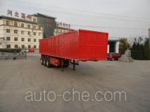 Yima FFH9370XXY box body van trailer