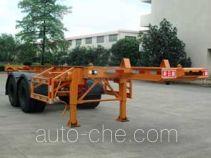 Xinrigang FFR9340TWYA dangerous goods tank container skeletal trailer