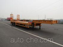 禅珠牌FHJ9400TDP型低平板半挂车