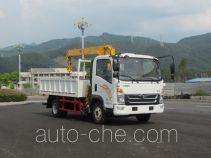 福环牌FHQ5040JSQME型随车起重运输车