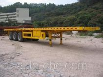 Fuhuan FHQ9380TPB flatbed trailer