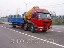 Wuyi FJG5252JSQMB truck mounted loader crane