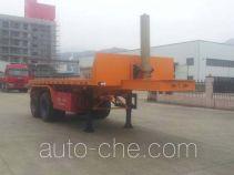 Wuyi FJG9350ZZXP flatbed dump trailer