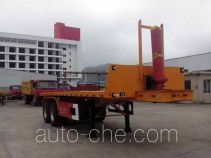 Wuyi FJG9351ZZXP flatbed dump trailer