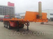 Wuyi FJG9400ZZXP flatbed dump trailer