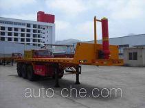 Wuyi FJG9401ZZXP flatbed dump trailer
