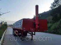 Wuyi FJG9402ZZXP flatbed dump trailer