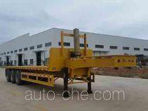 Wuyi FJG9404ZZXP flatbed dump trailer