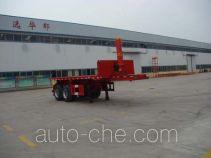 Huayunda FL9350ZZXP flatbed dump trailer