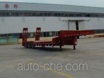 华郓达牌FL9400TDP型低平板半挂车