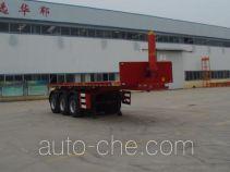 Huayunda FL9400ZZXP flatbed dump trailer