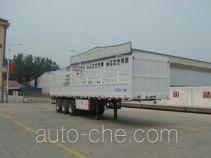 华郓达牌FL9402CCY型仓栅式运输半挂车