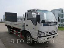 Fulongma trash containers transport double deck truck
