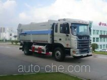 Fulongma FLM5162ZDJJ5NG docking garbage compactor truck