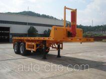 Minxing FM9350ZZXP flatbed dump trailer