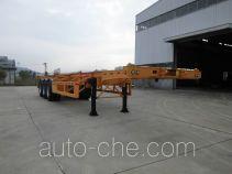 Minxing FM9400TWY dangerous goods tank container skeletal trailer