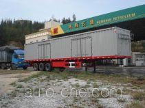 闽兴牌FM9404XXY型厢式运输半挂车