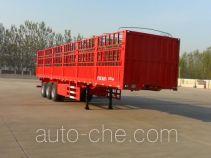 华岳兴牌FNZ9400CCY型仓栅式运输半挂车