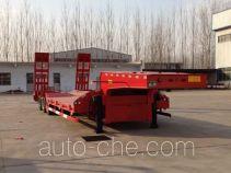 华岳兴牌FNZ9400TDP型低平板半挂车