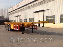 华岳兴牌FNZ9400TJZ型集装箱运输半挂车