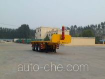 Huayuexing FNZ9400ZZXP flatbed dump trailer