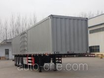 Huayuexing FNZ9402XXY box body van trailer