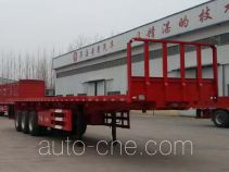 华岳兴牌FNZ9402ZZXP型平板自卸半挂车